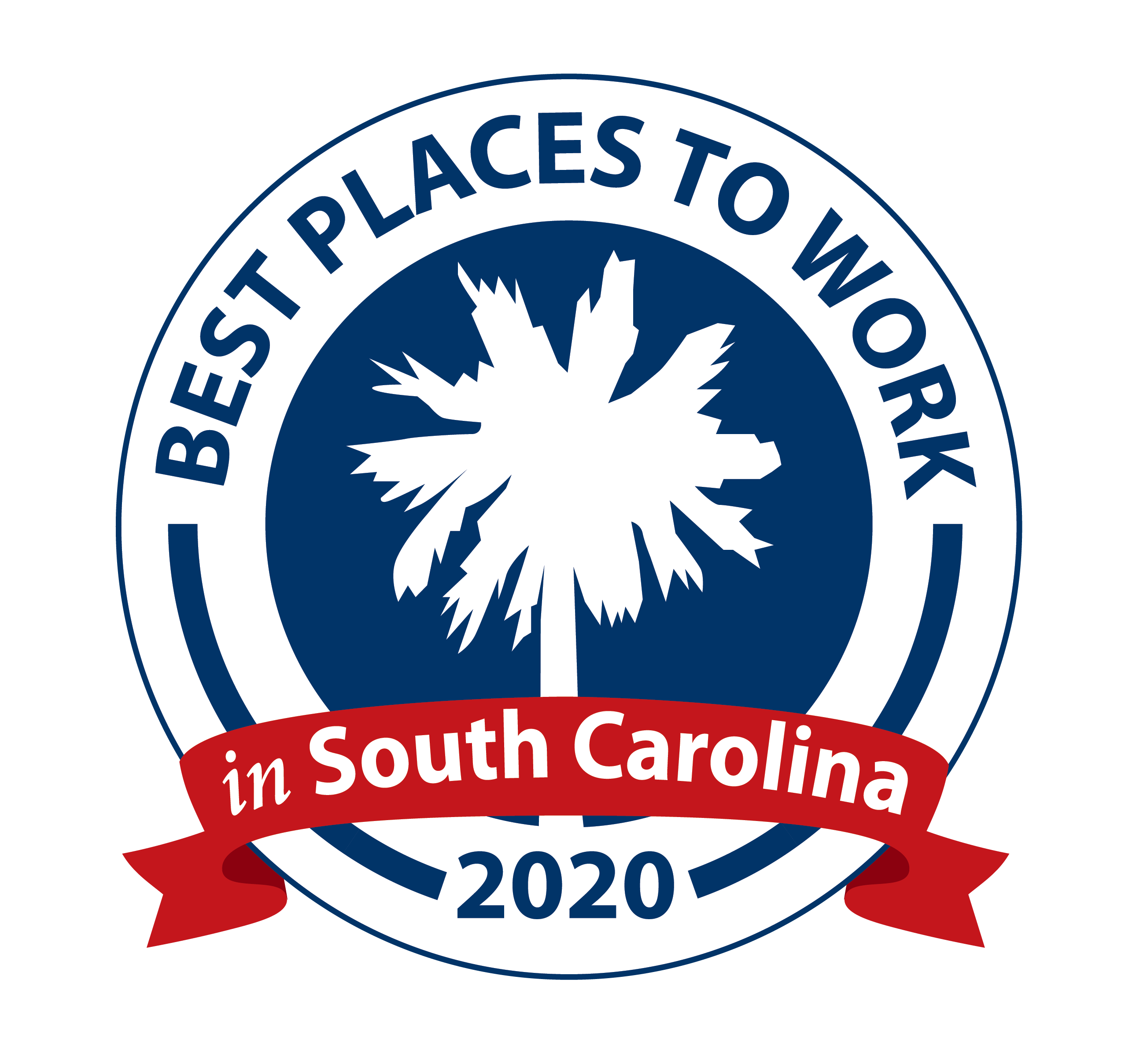Best place to work in South Carolina Award Icon