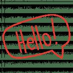 Callout Hello Image