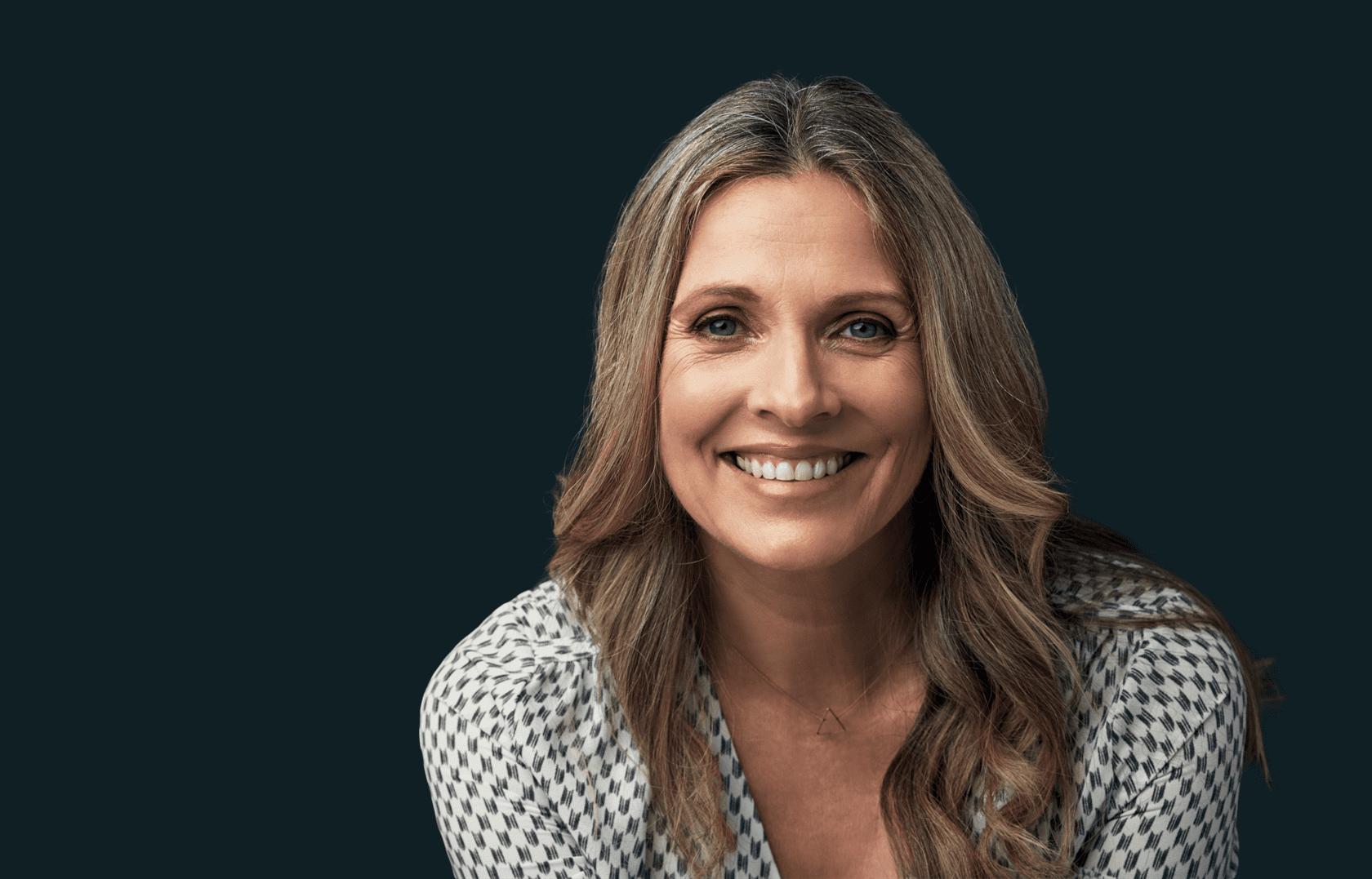 FGP woman smiling